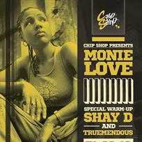 Monie Love at Chip Shop BXTN on Friday 31st August 2018