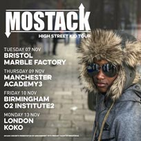 Mostack at KOKO on Monday 13th November 2017