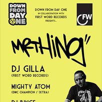 Mr Thing + DJ Gilla at Mirth, Marvel and Maud on Saturday 4th February 2017