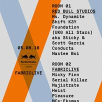 Ms Dynamite at Fabric on Friday 5th August 2016