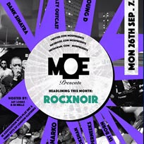 MOE Presents at The Ritzy on Monday 26th September 2016