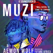 Muzi at Archspace on Thursday 26th July 2018