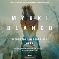 Mykki Blanco at XOYO on Wednesday 5th October 2016