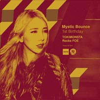 Mystic Bounce w/ TOKiMONSTA at XOYO on Thursday 2nd November 2017