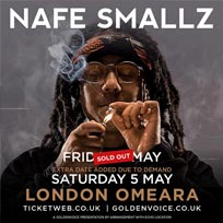 Nafe Smallz at Omeara on Friday 4th May 2018