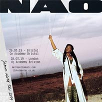 NAO at Brixton Academy on Thursday 28th March 2019