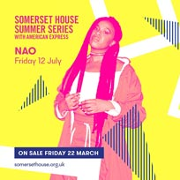 NAO at Somerset House on Friday 12th July 2019