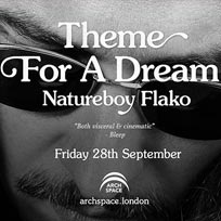 Natureboy Flako at Archspace on Friday 28th September 2018