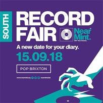Near Mint Record Fair at Pop Brixton on Saturday 15th September 2018