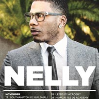 Nelly at Indigo2 on Saturday 25th November 2017