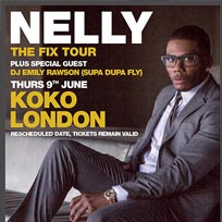 Nelly at KOKO on Thursday 9th June 2016