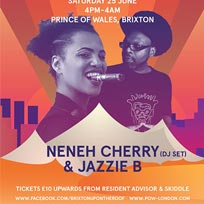 Neneh Cherry & Jazzie B at Prince of Wales on Saturday 25th June 2016