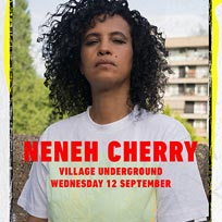 Neneh Cherry at Village Underground on Wednesday 12th September 2018