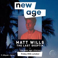 New Age Live at Colours Hoxton on Friday 25th October 2019