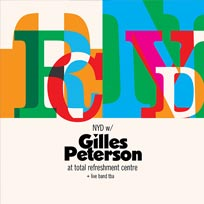 New Years Day w/ Gilles Peterson at Total Refreshment Centre on Monday 1st January 2018