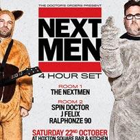 The Nextmen (4 Hour Set) at Hoxton Bar & Kitchen on Saturday 22nd October 2016