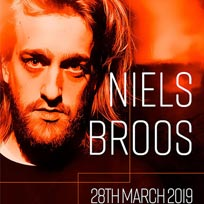 Niels Broos  at Corsica Studios on Thursday 28th March 2019