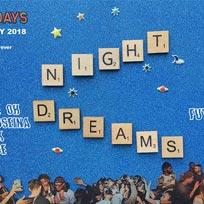 Night Dreams at Birthdays on Saturday 10th November 2018