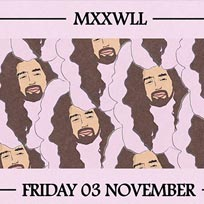 Night Thing w/ MXXWLL at Jazz Cafe on Friday 3rd November 2017