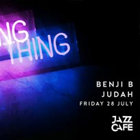 Night Thing w/ Benji B at Jazz Cafe on Friday 28th July 2017