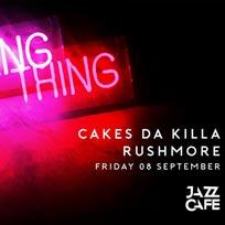 Night Thing w/ Cakes Da Killa at Jazz Cafe on Friday 8th September 2017
