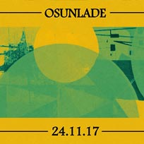 Night Thing w/ Osunlade at Jazz Cafe on Friday 24th November 2017
