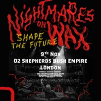 Nightmares On Wax at Shepherd's Bush Empire on Friday 9th November 2018