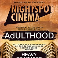 Nightspot Cinema: Adulthood at Archspace on Sunday 12th February 2017