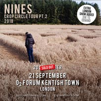 Nines at The Forum on Friday 21st September 2018