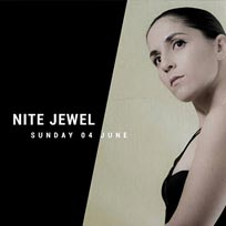 Nite Jewel at Camden Assembly on Sunday 4th June 2017