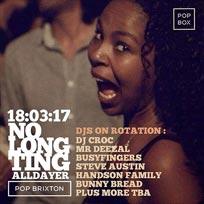 No Long Ting at Pop Brixton on Saturday 18th March 2017