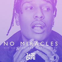 No Miracles at Jazz Cafe on Friday 3rd February 2017