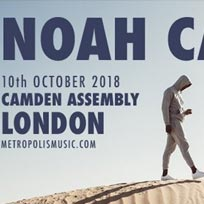 Noah Carter at Camden Assembly on Wednesday 10th October 2018