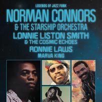 Norman Connors at Indigo2 on Friday 24th January 2020