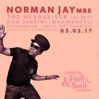 Norman Jay at Brixton Jamm on Friday 3rd March 2017