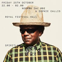 Spiritland By Night at Royal Festival Hall on Friday 25th October 2019