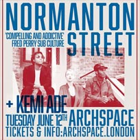 Normanton Street at Archspace on Tuesday 12th June 2018