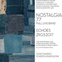 Nostalgia 77 at Archspace on Wednesday 29th March 2017