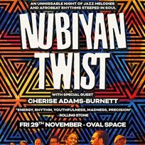 Nubiyan Twist at Oval Space on Friday 29th November 2019