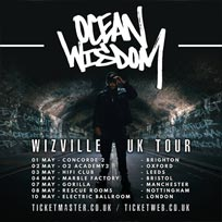 Ocean Wisdom at Electric Ballroom on Thursday 10th May 2018