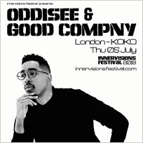 Oddisee & Good Company  at KOKO on Thursday 5th July 2018