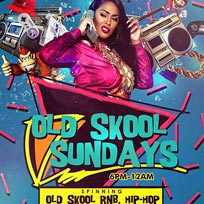 Old Skool Sundays at Proud East on Sunday 19th November 2017
