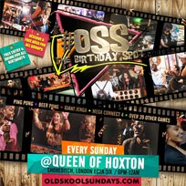 OSS: The Birthday Spot at Queen of Hoxton on Sunday 17th March 2019