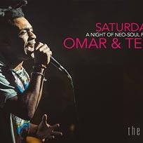 Omar & Terri Walker at Kensington Roof Gardens on Saturday 13th January 2018