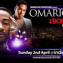 Omarion & Bobby V at Indigo2 on Sunday 2nd April 2017