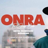 Onra at Jazz Cafe on Sunday 5th May 2019