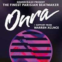 Onra at Soundcrash on Friday 2nd March 2018