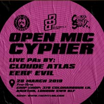 Open Mic Cypher at Chip Shop BXTN on Thursday 28th March 2019