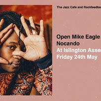 Open Mike Eagle at Islington Assembly Hall on Friday 24th May 2019