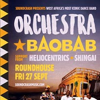 Orchestra Baobab at The Roundhouse on Friday 27th September 2019